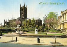 Postcard Staffordshire  Wolverhampton St Peter's Collegiate  no 2 unposted