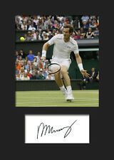 b643780222320 ANDY MURRAY  1 Signed Photo A5 Mounted Print - FREE DELIVERY