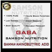 PURE GABA POWDER 100g GAMMA-AMINOBUTYRIC ACID STRESS & SLEEP SUPPORT GH LEVELS
