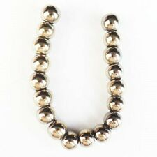 18Pcs/Set 6mm Gold Hematite Ball Pendant Bead S12244