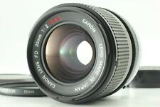 """"""" MINT """" Canon FD 35mm f/2 S.S.C. SSC MF Wide Angle Lens from JAPAN #505"""
