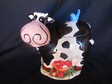 Cookie Jar Cow Basket of Apples Bird Collectible Kitchenware Animals Cookie Jars