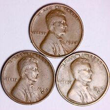 1930 + 1930-D + 1930-S  Lincoln Wheat Cents LOWEST PRICES ON THE BAY! FREE S/H