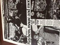 m7-4 ephemra 1970 picture arrticle 1 page mexico world cup pele