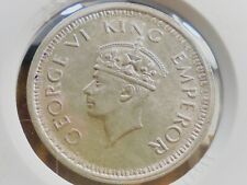 British India ONE RUPEE 1944 L Uncirculated Silver