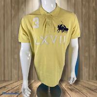 Ralph Lauren Large double Pony Purple Polo Shirt Big Logo XL