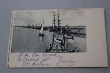Jersey postcards: The Albert Harbour Number 3201 Jersey Early 1900s