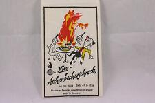 1960 / 70er Vintage NICO Scherzartikel Aschenbecherschreck