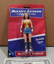 Wonder Woman Justice League The New Frontier Bendable Action Figure NIP