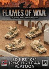 Flames of War: Afrika Korps Sd Kfz 10/4 (2cm) Light AA Platoon (GBX94)