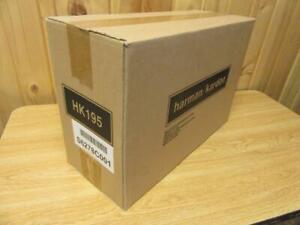 New Harman Kardon HK195 Multimedia Computer Speakers w/ AC Adapter *Sealed Box*