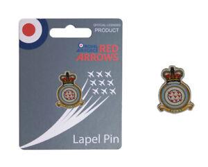 Royal Air Force RAF RedArrows Crest lapel pin badge