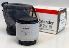 Canon Extender EF 2x III Teleconverter Lens