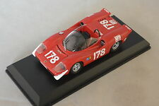 Best MODEL 9507 - Abarth 2000 #178 1er Targa Florio - 1969  Kelleners  1/43