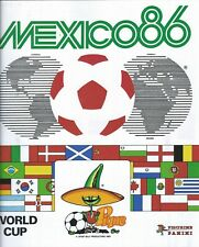 PANINI: Mexico 86 World Cup COMPLET COPY