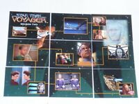 1998 STAR TREK VOYAGER PROFILES BASE TRADING 90 CARD SET RODDENBERRY! SKYBOX!
