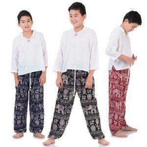 ✅ Vegan & Fair - Kinder Aladinhose Haremshose Pumphose Thai Hose Jungen Mädchen