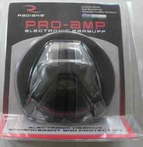 Radians PA0600CS Pro Amp Electronic Earmuff Sound Muffler