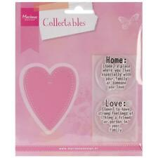 Marianne Design Collectables Dies ~ Love, COL1334 ~ NIP