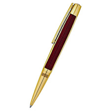 S.T. Dupont Limited Edition 405720 Iron Man Defi Red Gold Trim Ballpoint Pen