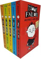 Timmy Failure Totally Catastrophic 5 Books Collection Set Pack By Stephan Pastis
