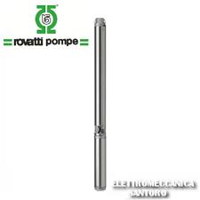 ELETTROPOMPA POMPA SOMMERSA 4ES6/18 HP 2 VOLT 380 ROVATTI