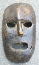 NEPAL  SHAMAN RITUAL  TRIBALLY USED SHIVA TRIDENT RICH PATINA  MASK