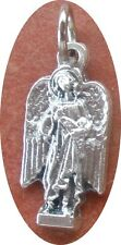 "Saint St. Raphael the Archangel Cut-Out CHARM + 3/4"" excl loop + Healing"