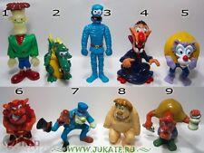 Collectible Complete 9 Figures Set HALLOWEEN MONSTERS Kinder Surprise Miniatures