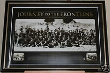 ANZAC Journey to the Frontline Print Framed