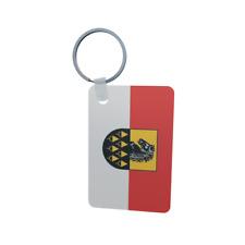 Schlüsselanhänger Flagge Fahne Niedernsill (Salzburg) Alu 40 x 57 mm