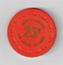 1964 JERRYS NUGGET CASINO LAS VEGAS, NEVADA 1ST ISSUE .25 GAMING CHIP 1964!