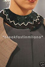 Ultra CHIC NWT MARNI RUNWAY PAILLETTES NECKLACE catwalk