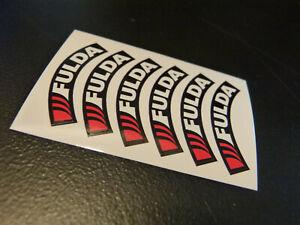 Reifenbeschriftung Mark Fulda Sticker Schuco Welly Truck Decal 1:3 2