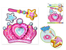 Balloon Blasts PRINCESS THEMED wall stickers 3 big 3D pop-up decals crown wand