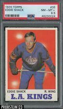 1970 Topps Hockey #35 Eddie Shack Los Angeles Kings PSA 8.5 NM-MT+