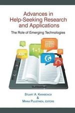 Advances in Help-Seeking Research and Applications: The Role of Emerging Technol