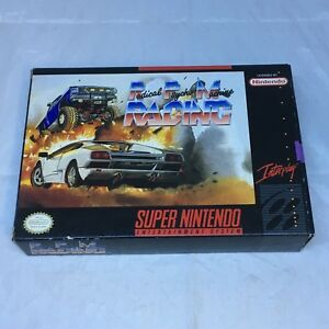 Radical Psycho Machine Racing, Super Nintendo Entertainment System, 1992, CIB