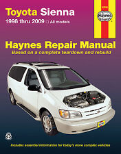 Repair Manual Haynes 92090 fits 05-10 Toyota Sienna
