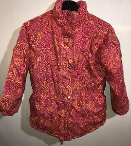 Obermeyer Girl's Size 7 Snow Pink I- Grow Nirvana Jacket