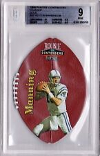 1998 Playoff Contenders Leather Peyton Manning GOLD Rookie /36 BGS 9  .5 Away