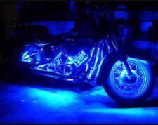 LED Waterproof 12v Custom Motorcycle LED Neon Accent Lighting Blue 4 Pcs 1' Atv
