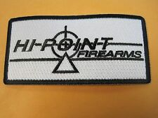 HI-POINT FIREARMS VEST PATCH 2 X 4 INCH SEW ON GUN PATCH 100% EMBROIDERY LOOK!!!