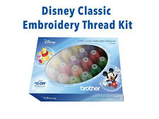 Genuine Brother ETPDISCL24 24 Cones Disney Classic Machine Embroidery Thread Kit