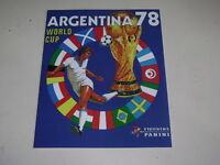 PANINI WORLD CUP ARGENTINA 78 - 1978 ALBUM OFFICIAL REPRINT - 100% complete