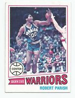 1977-78 Topps ROBERT PARISH Rookie #111, Celtics, Golden State Warriors HOF, EX