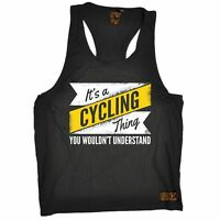 MENS - A Cycling Thing - Breathable tshirt sports Clothing T SHIRT TANK TOP