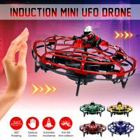 UFO Induction Aircraft Interactive Flying Toys Mini Inductive Suspension Drone