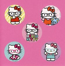 15 Hello Kitty Glasses - Large Stickers - Party Favors - Cat