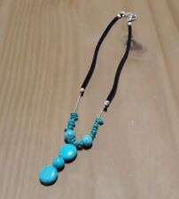 Handmade Ladies Turquoise Choker